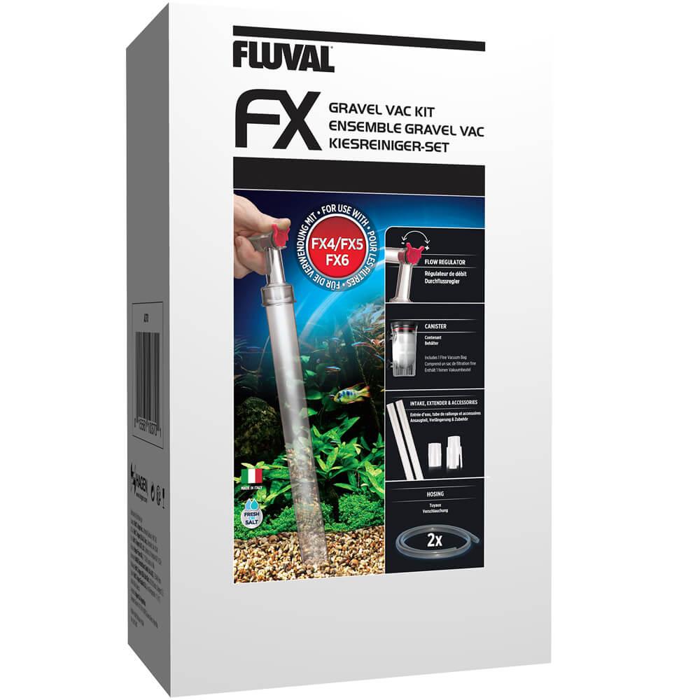 Fluval Pro VAC Bodengrundreiniger schwarz 11077