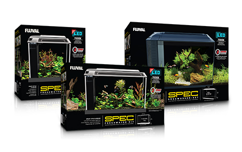 Fluval Spec Desktop Freshwater Aquariums Newly Redesigned